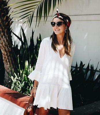 2019 Fashion Women Long Sleeve Chiffon Blouse White Shirt Ruffles Ladies  Summer Shirts Casual Loose Beach Short Outfits Sunsuit Tops From  Caicaijin03 49d9d9b32