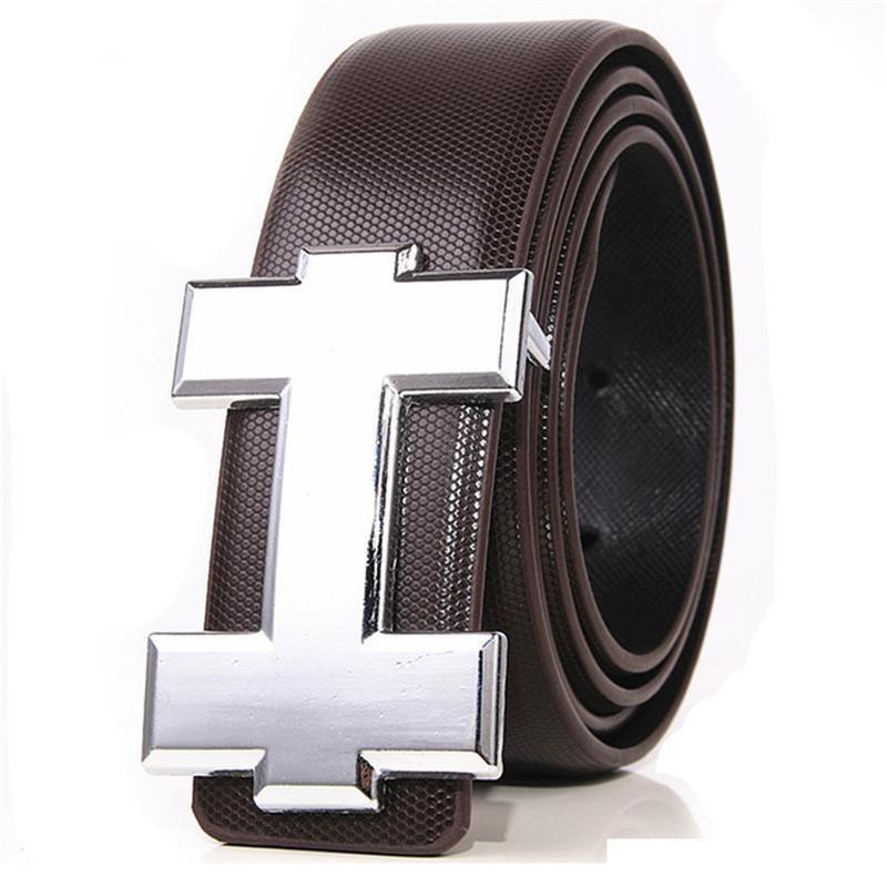 66b787b5b089 Compre Marca De Moda Unisex Cinturones De Lujo H Diseño Caballeros Señoras Correas  De Cuero Genuino De Alta Calidad Suave Hebilla Cinturón Jeans Correa De ...