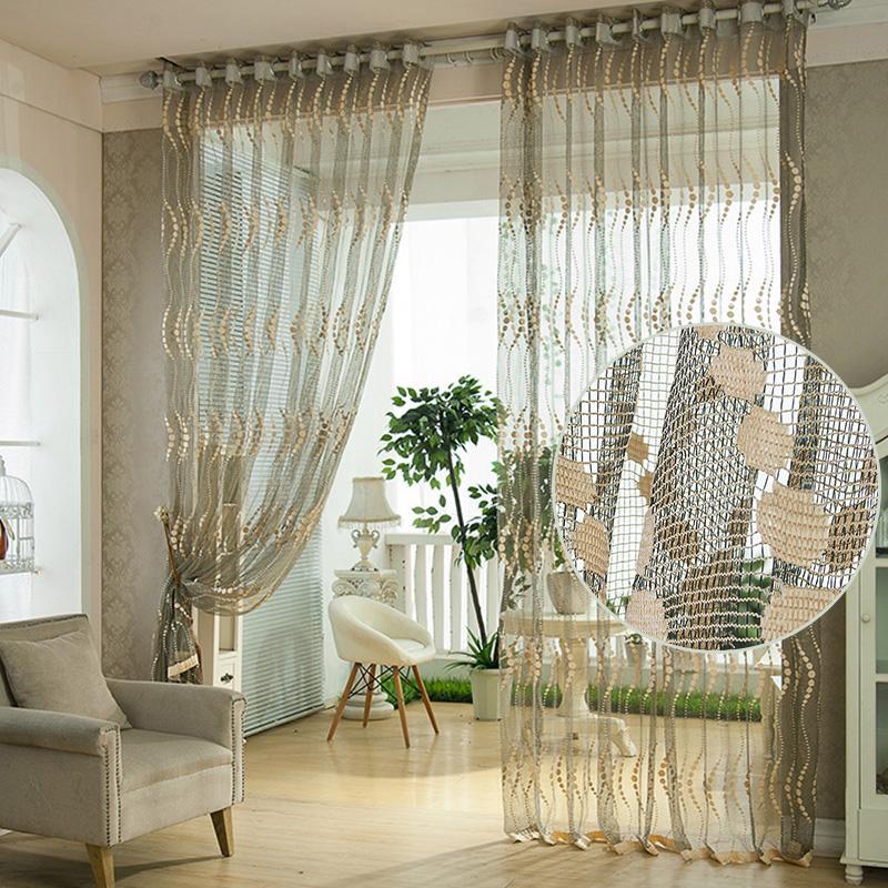 Acheter Chambre Floral Tulle Rideau Fenêtre Porte Balcon Levage