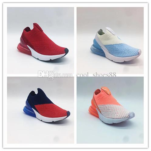 newest 74d8b e0ca1 Acquista 2018 Nike Air Max 270 27c New 270 OG Mesh Traspirante Bambini  Sneakers Da Corsa 27C OG AirCushion E Ammortizzazione Ammortizzante Bambini  Scarpe Da ...
