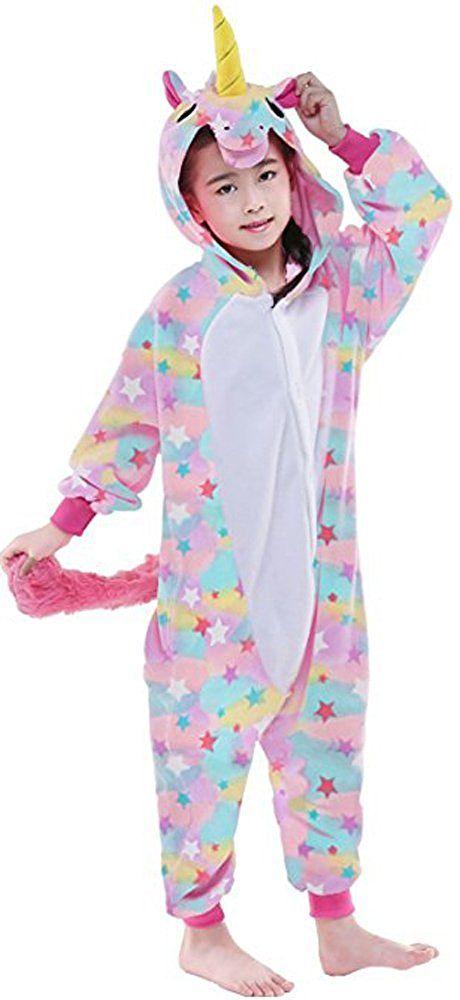 2e49e964 Compre Niños Pijamas Kigurumi Franela Suave Cosplay Animal Onesies Ropa De  Dormir Unicornio A $20.3 Del Dhwiner | DHgate.Com