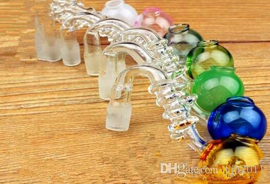 Accessori narghilè 4 vasi rotondi fortuna Bong di vetro all'ingrosso Bruciatore a olio Tubi di vetro Tubi di acqua Rigs di petrolio Fumo