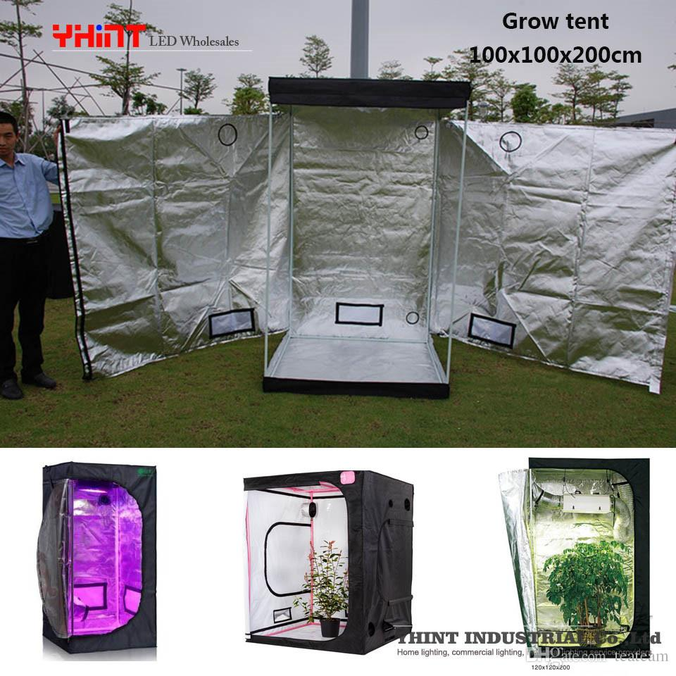 YHINT Quick Setup Grow Tent With Led Grow Light For Hydroponic Grow 40x40x120cm Mini Size Home Use Indoor Hydroponics Plants Room Grow Lights Led Indoor ... & YHINT Quick Setup Grow Tent With Led Grow Light For Hydroponic Grow ...
