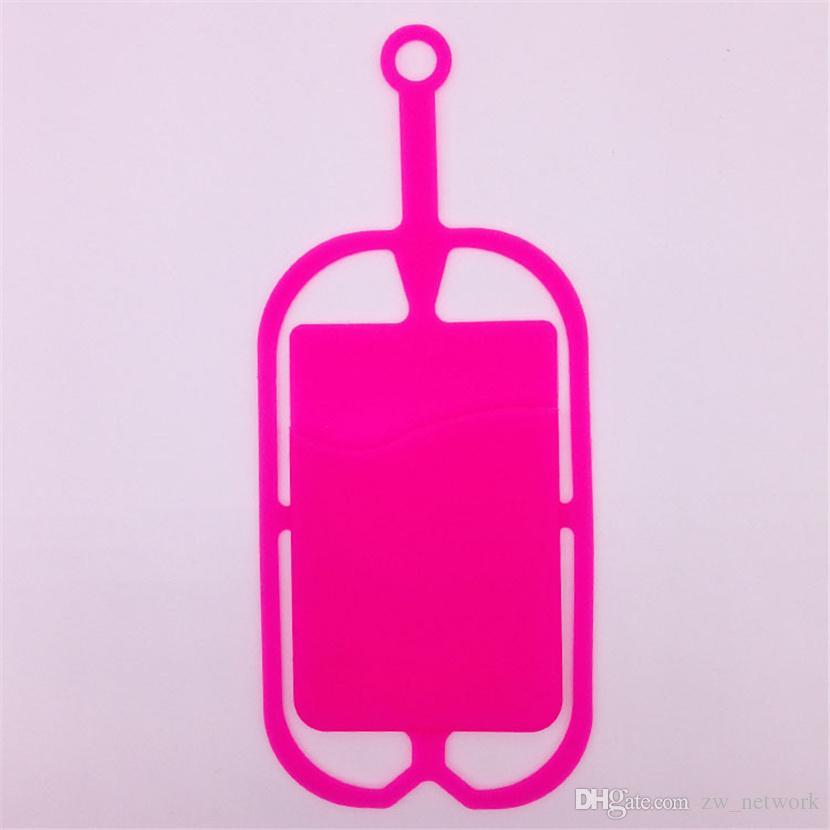 DHL смешивать цвета силиконовый чехол для мобильного телефона с ремешками Универсальный держатель для мобильного телефона Ремешок для шнурка конфеты цвета логотип