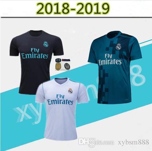 d2667866e41 Real Madrid 2018 Top Jerseys RONALDO ASENSIO MODRIC Soccer Jersey ...