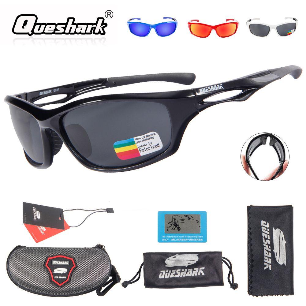 021b23648f5 2019 Queshark Men Women Cycling Polarized Sunglasses Bike Glasses TR90  Uv400 HD Lens Bicycle Goggles Fishing Glasses Riding Eyewear From Shinyday