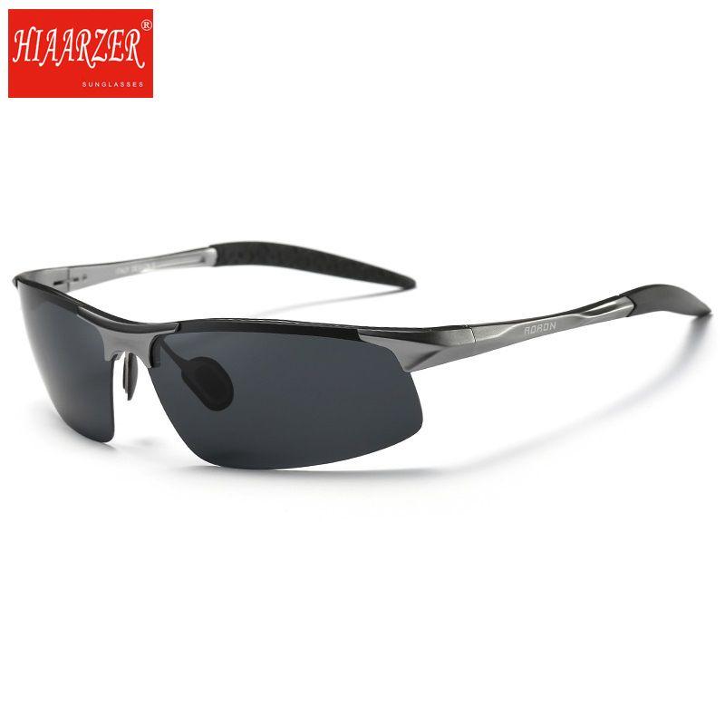fed0ef595 Compre Qualidade Superior Polarizada Óculos De Sol Dos Homens De Alumínio  Magnésio Quadro De Condução De Carro Óculos De Sol Dos Homens De Esportes  Para ...