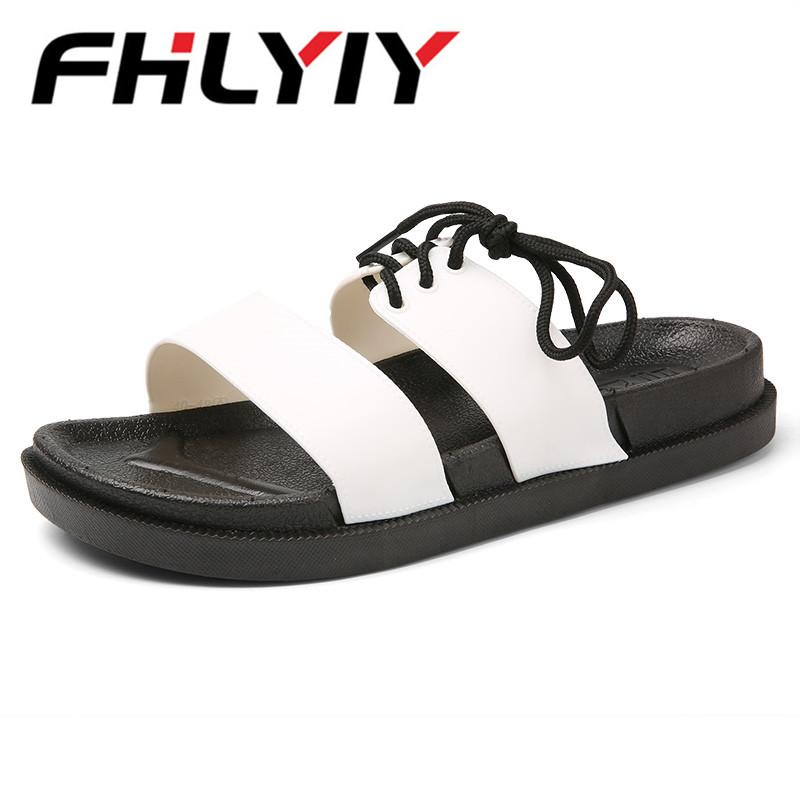c5c925e002edb 2018 Unisex Sandals Summer Massage Slippers Sandals Men Fashion Hollow Out  Breathable Beach Slippers Garden Shoes Walking Sandals Sandals From  Lbdshoes