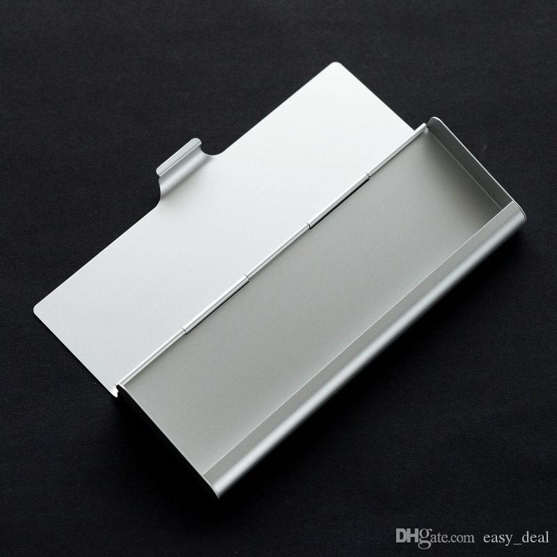 New Stationery Metal Pencil Case Pen Box Aluminum alloy Fine Small Box Storage Supplies For Friends Children's Gifts F20173098