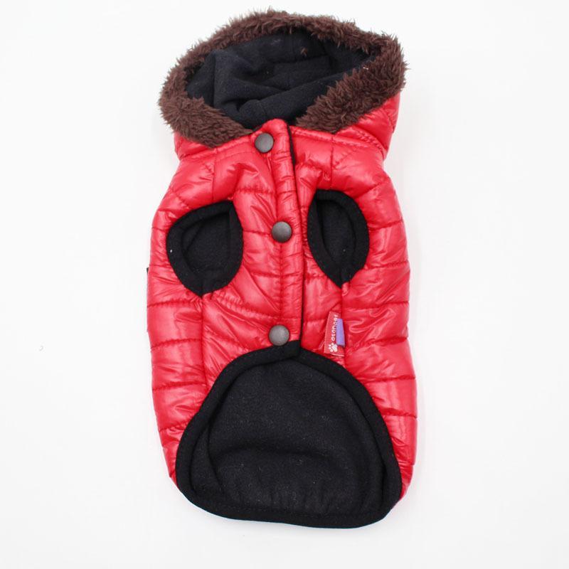 الخريف الشتاء الدافئة الكلب الملابس ل كلب صغير سترة الكلب معاطف pet جرو القط الملابس حيوانات منزلية 5 ألوان