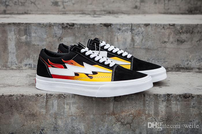 2019 2018 New Revenge X Storm Old Skool Men Women Canvas Skate Board Shoes  Low Cut Skateboard Top Quality Casual Shoe Sports Sneakers From Weile d11986f15