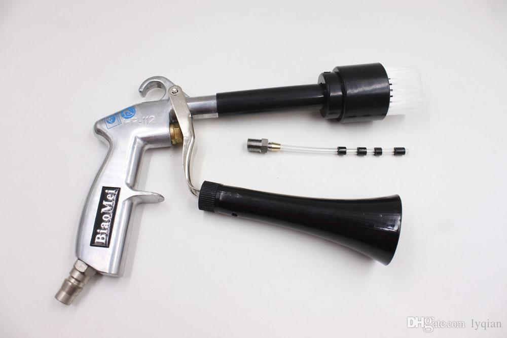 Z-014portable tubo de borracha de lavagem a seco soprando arma tornador para máquina de lavar carro máquina de lavagem de carro tornado gun