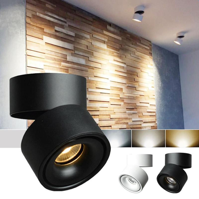 2019 Modern Small CREE LED Spotlight 360 Degree Rotation