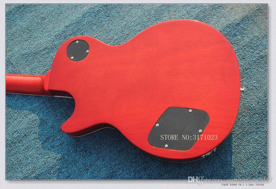 Custon shop slash Snake inlay fret board red electric guitar made in china guitar