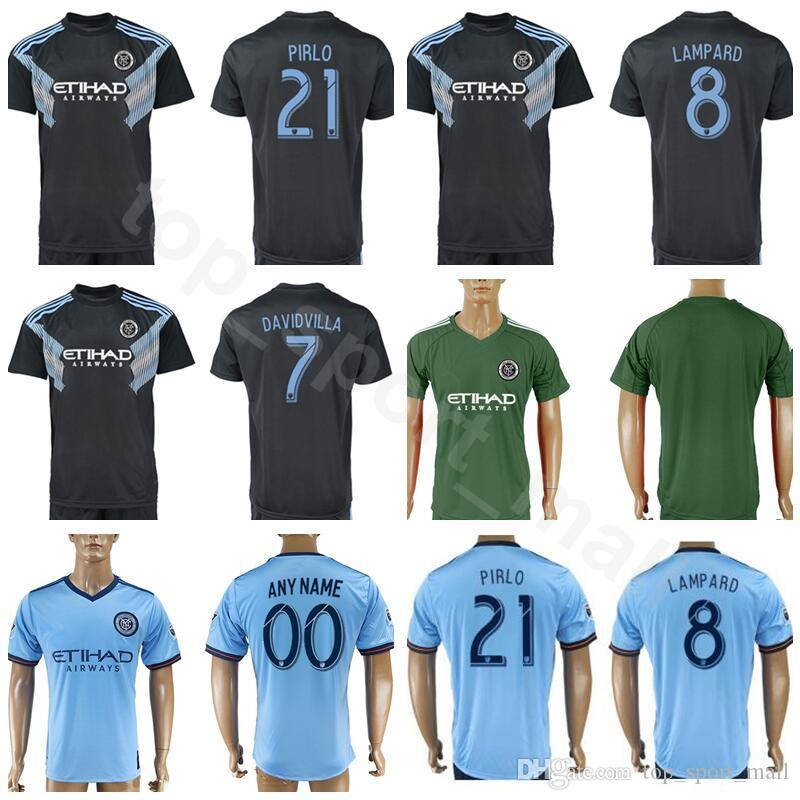 4bf45337097 2019 New York City 2018 2019 Soccer FC Jersey 19 MEDINA 3 TINNERHOLM 8 RING  22 MATARRITA 1 JOHNSON Goalkeeper Football Shirt Kits Uniform From ...