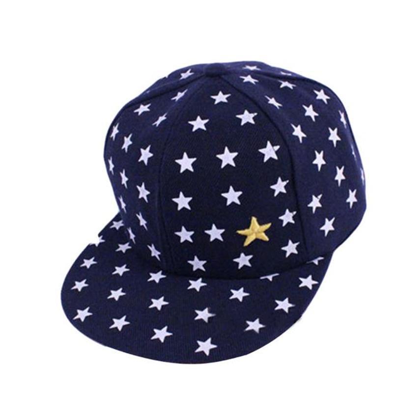 Compre Moda Impresión Estrellas Rayado Sun Truck Hat Ajustable Snapback  Nuevo Niños Bebé Niños Patrón Hip Hop Gorra De Béisbol Enarbolada Sombrero  A  10.86 ... f718bc038f5