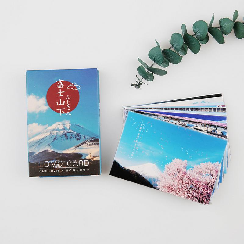 Card Lover Landscape Of Muji Mini Greeting Lomo Memo Kids Gift Postcard Kawaii Stationery Sister Birthday Cards Special From Diaolan