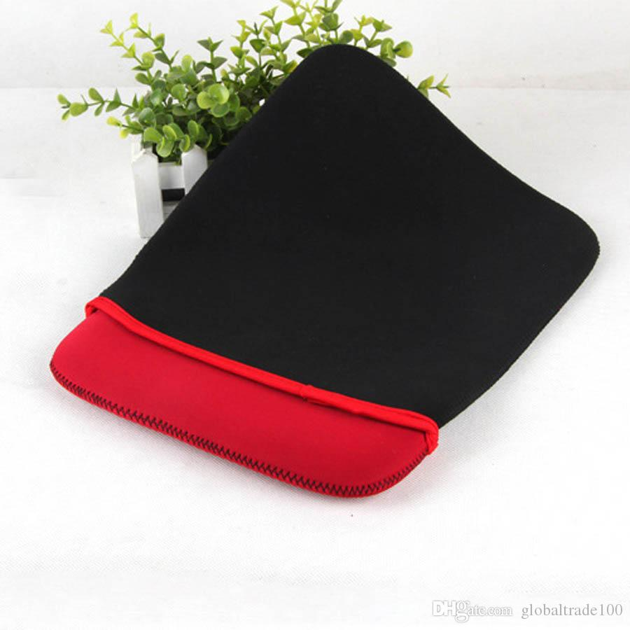 "7"" 10"" 15"" Universal Sleeve Carrying Neoprene Pouch Soft Case Laptop Pouch Protective Bag For Macbook iPad Tablet PC Protective Cover Bag"