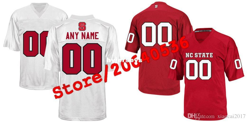 2c1408013 Cheap Custom NC State Wolfpack College Jersey Mens Women Youth Kid ...