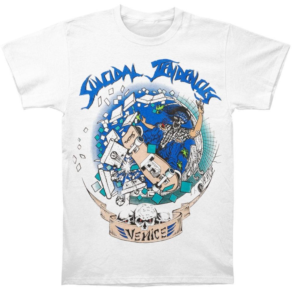 7d1cd2e2 T-Shirts New Suicidal Tendencies Venice Skater White Shirt S-3XL ...