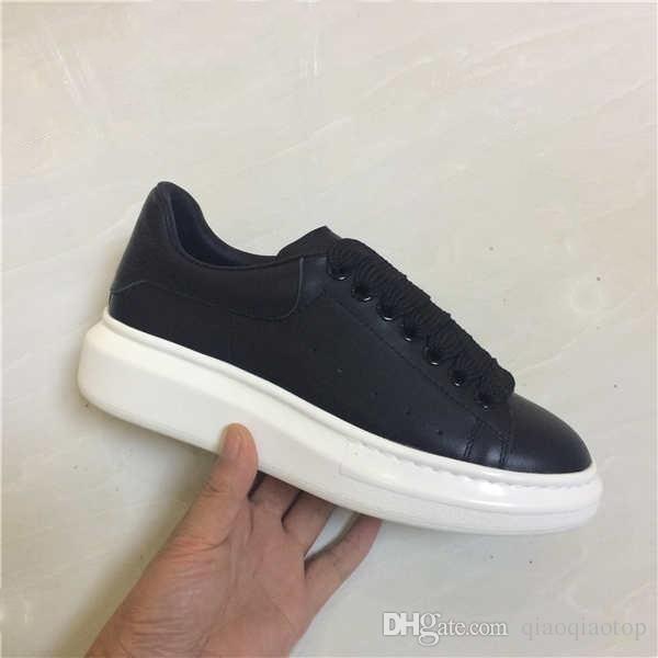 black shoes with white sole