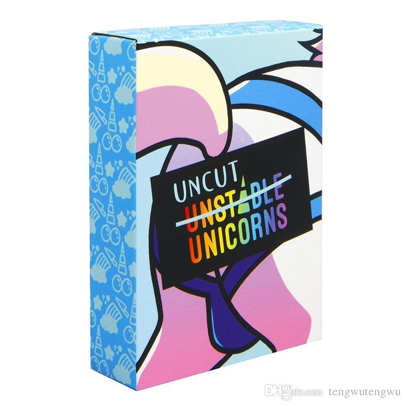 Compre Juegos De Cartas Coleccionables Unicornios Inestables Paquete