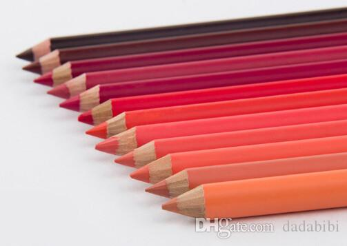 NEW ARRIVAL O TWO O BRAND LIP PENCILS COLORFUL WATERPROOF LONG LASTING  NATURAL NUTRITIOUS FREE SHIPPING