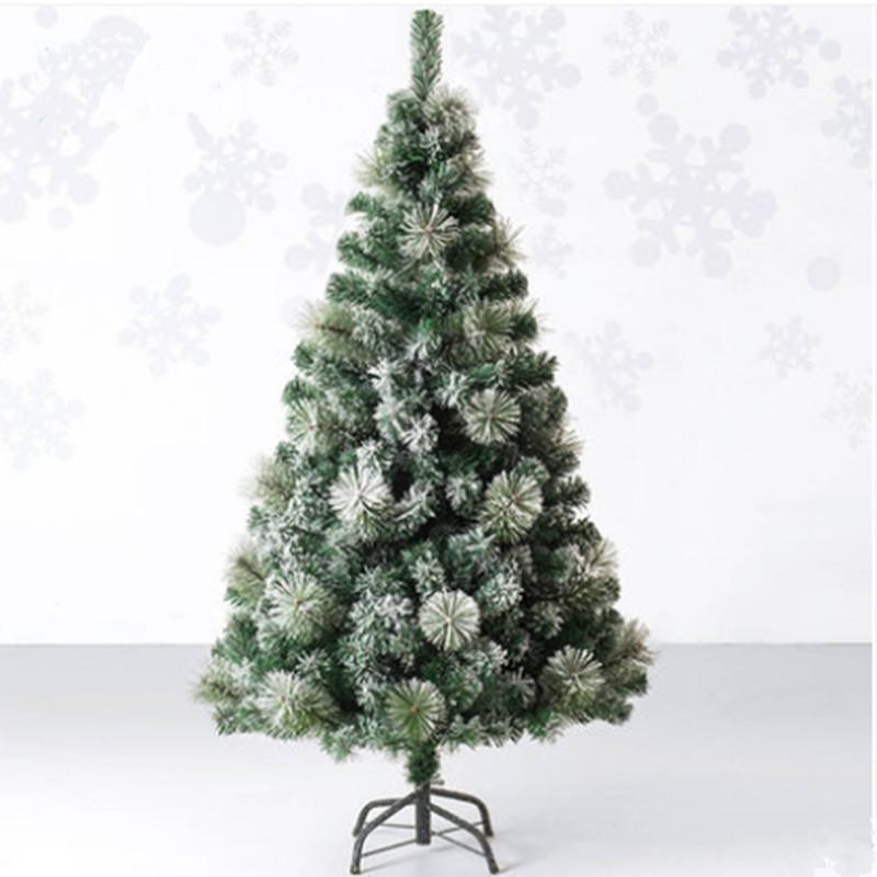 Snowing Christmas Tree.1 5 M 150cm Encryption Christmas Tree Christmas Tree Leaves Snow Flocking Pet Decoration Goods Garden Hotel