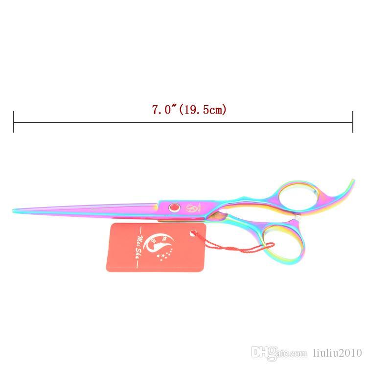 7.0Inch Meisha Professional Hairdressing Big Scissors Kits JP440C Hair Cutting Shears Thinning Tijeras Hair Cut Tools Home Salon Used HA0367