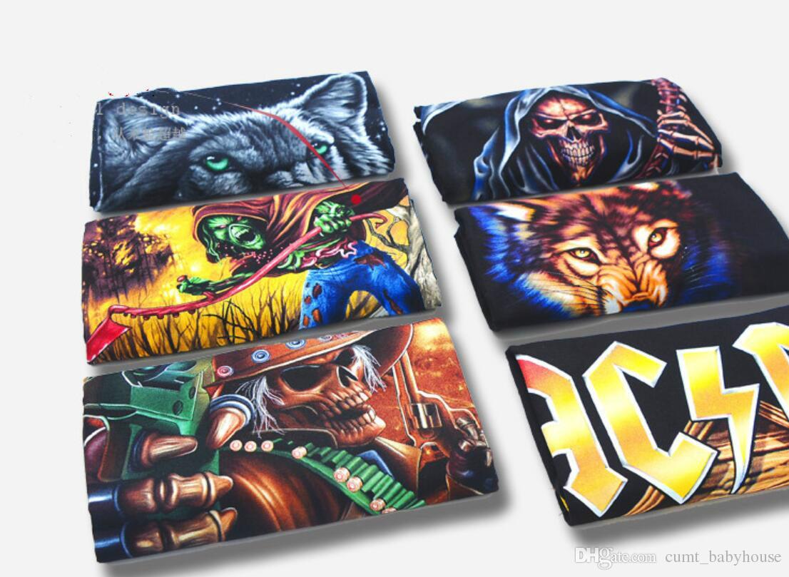 Paragraf 9 karikatür kaya suç erkekler t-shirt AC DC hip hop moda ağır metal t gömlek ücretsiz kargo