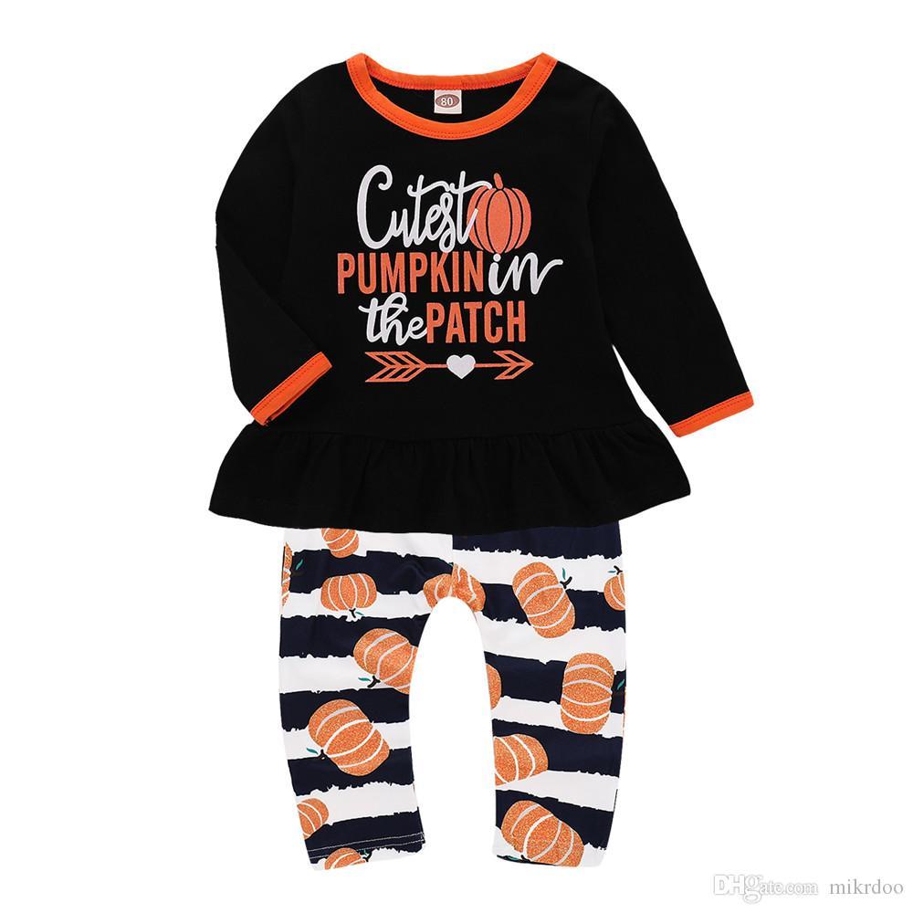 eb5b9902b 2019 Mikrdoo Infant Toddler Newborn Baby Halloween Party Clothes Set ...