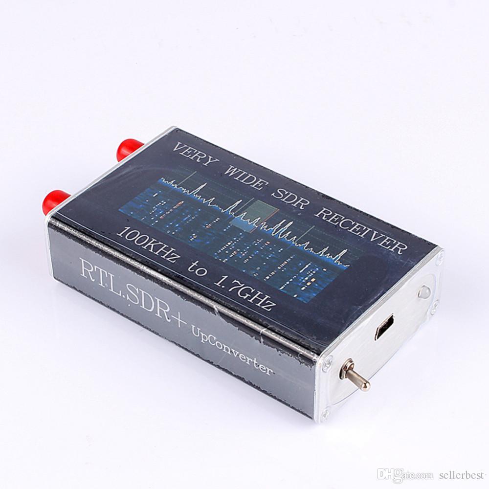 100 KHz-1.7 GHz VHF UHF Band RTL. SD + UpConverter SDR Alıcı NFM FM DSB LSB CW Ücretsiz Kargo
