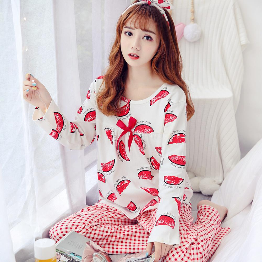 2019 Fall 2018 Kawaii Women S Clothing Pajamas Plus Size M ... c5a629b3a