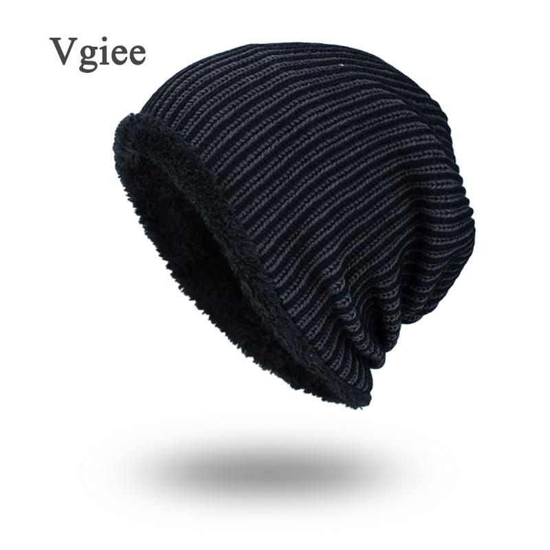Vgiee Boys Men Winter Hat Knit Scarf Cap Winter Hats For Men Caps Warm Fur  Skullies Beanie Bonnet Hat Man 2018 Mens Hats UK 2019 From Qingfengxu 200c3581743