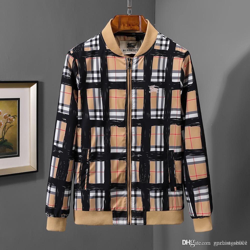 4dbf4a81c4b Fashion Designer Jacket Windbreaker Long Sleeve Mens Jackets Hoodie ...
