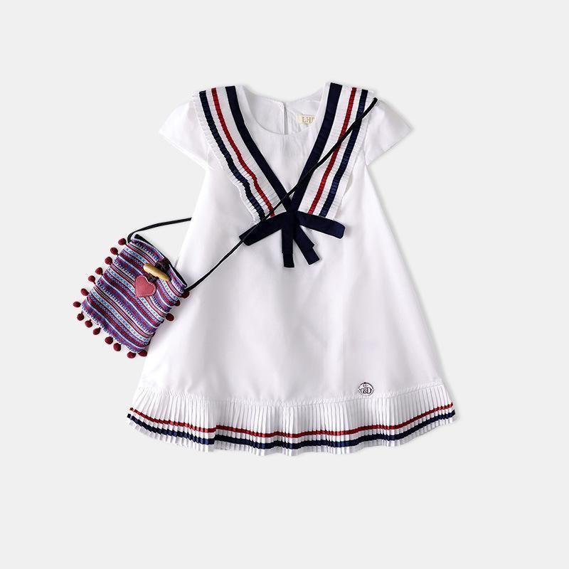 227480397 Baby Girl Wholesale 2018 Summer Exit Girl Dress School Wind Cute ...