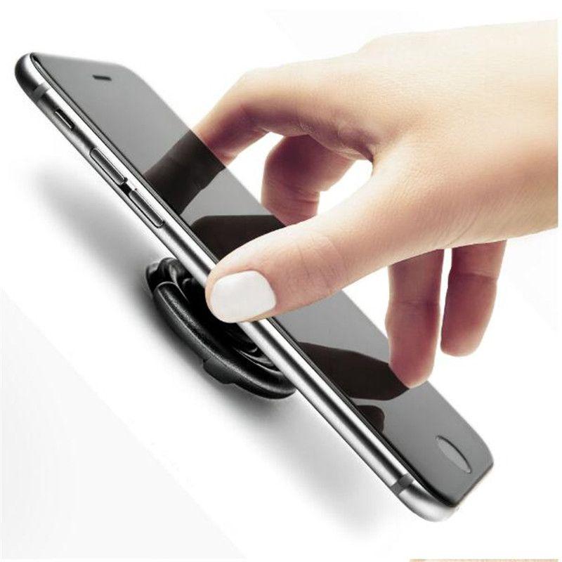 Araba Hava Firar Duvar Ofis için yapıştırıcı Cep Telefonu Kanca Evrensel Telefon Mounts Klip Toka Sahipleri