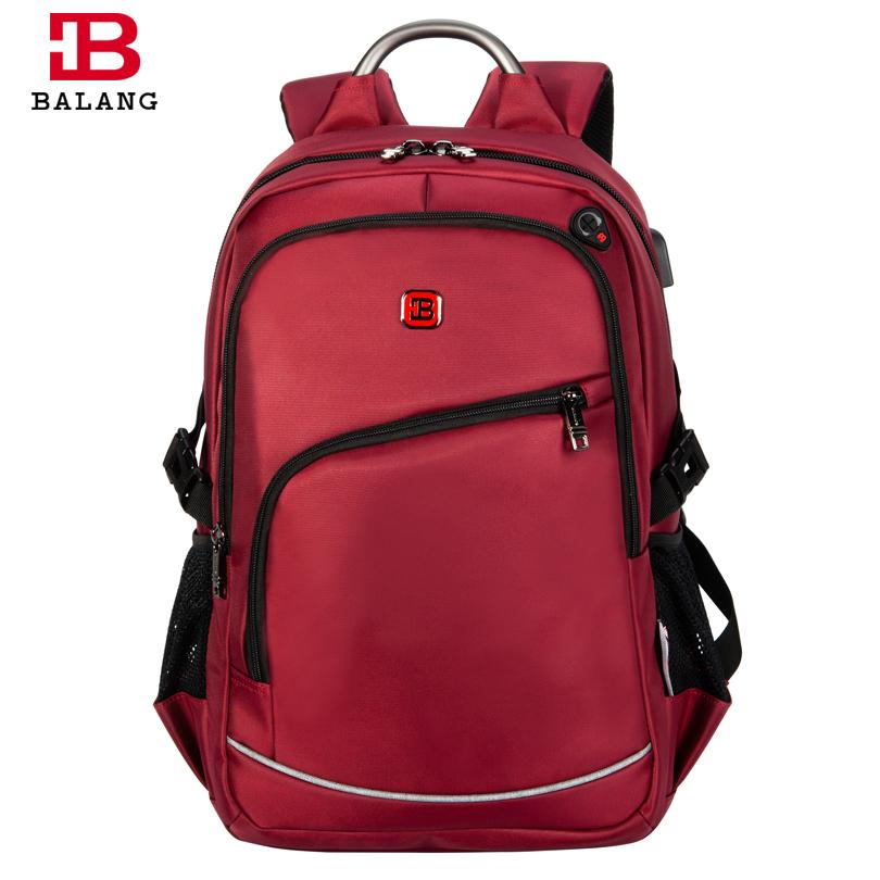 BALANG Brand Popular College School Backpacks for Teenagers Boys ... ded755339cfd0