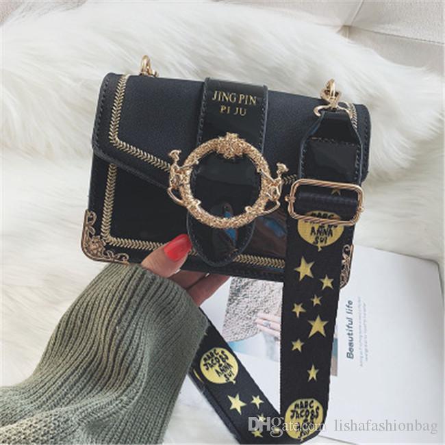 LI SHA SHOP Autumn And Winter Fashion Women Messenger Bags Retro ... 57afb5ccdd40c