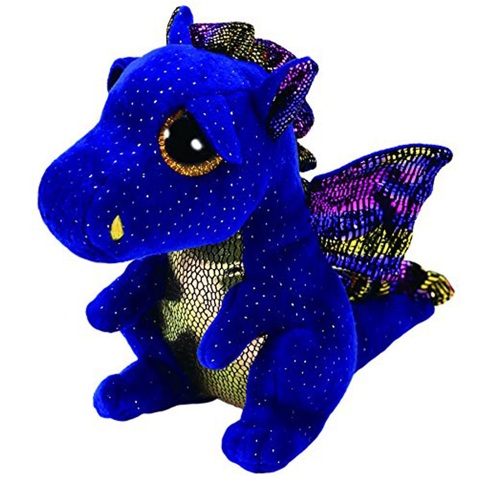 399087c8742 Pyoopeo Ty Beanie Boos 6 15cm Saffire The Dragon Plush Regular Soft Big  Eyed Stuffed Animal Collection Doll Toy With Heart Tag Y18100904 Stuffed  Hamster Toy ...