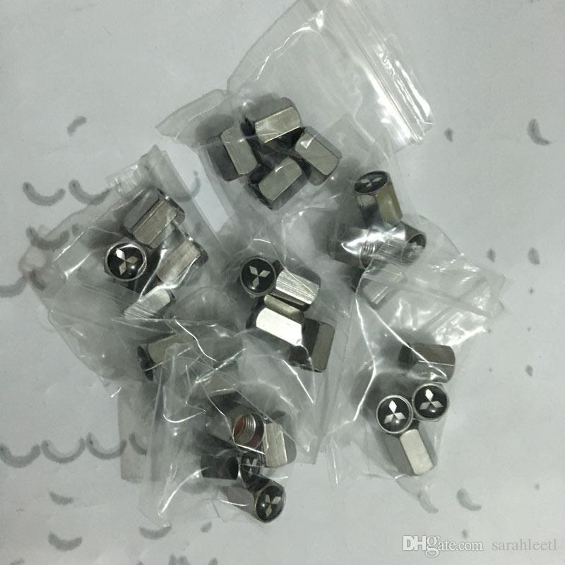 Cápsulas de la válvula del neumático de Stemvalve de la rueda de Hexangonal del coche Auto Cooper completo para Mitsubishi