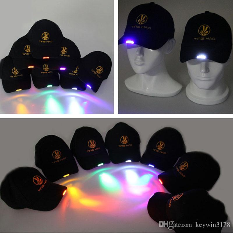 Outdoor Multi Functional 5 LED Cap Breathable Sports Hat For Night Fishing  Running Cycling Vocal Concert Cheering Men Women S Hats UK 2019 From  Keywin3178 4c67ca6ca006