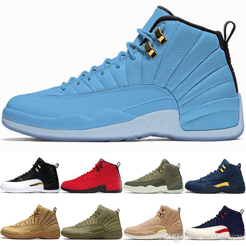 411706ca1629 With Box 12 Men Basketball Shoes 12s Class of 2003 Michigan Bulls ...