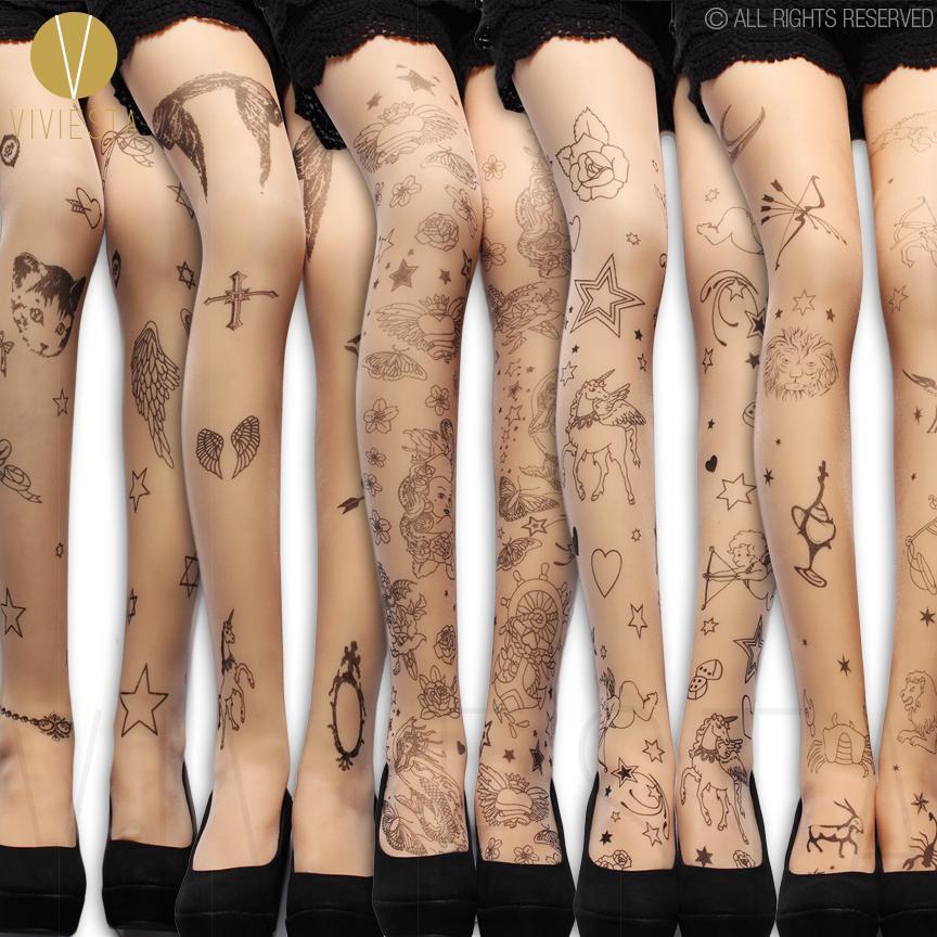 Acheter Mythes Grecques Motif Tatouage Collants 20d Mode Feminine