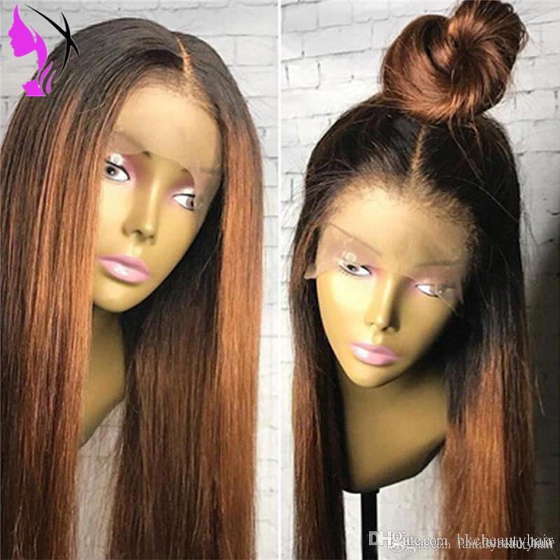 Synthetic Lace Wigs Lace Wigs Fashion Style Pervado Hair Synthetic Hair High Temperature Fiber Brown Color 14 Ocean Wave Glueless Front Lace Wigs For Women Cosplay Wig