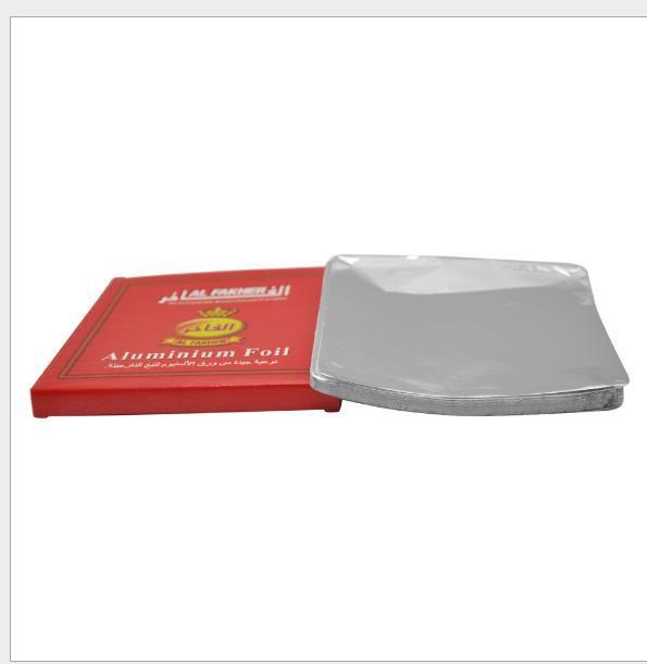 Scatola di latta dello stagnola dello stagno di perforazione speciale degli accessori del narghilé della stagnola Scatola rossa della bottiglia da fiuto senza fori