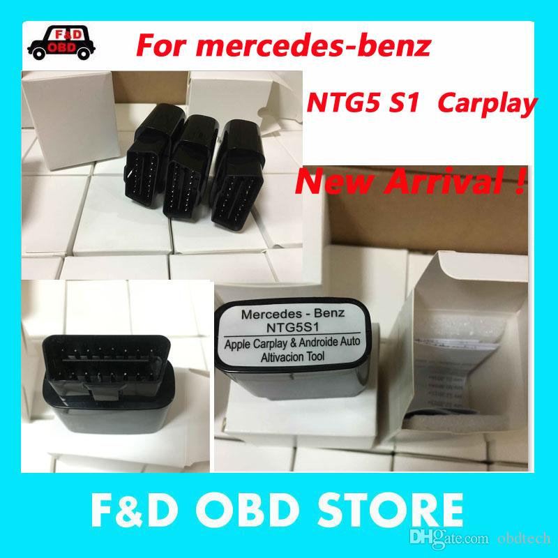 2018 Newest CarPlay for mercedes benz NTG5 S1 Apple and Android Auto  activation tool iPhone/Android MB STAR C4 STAR C5