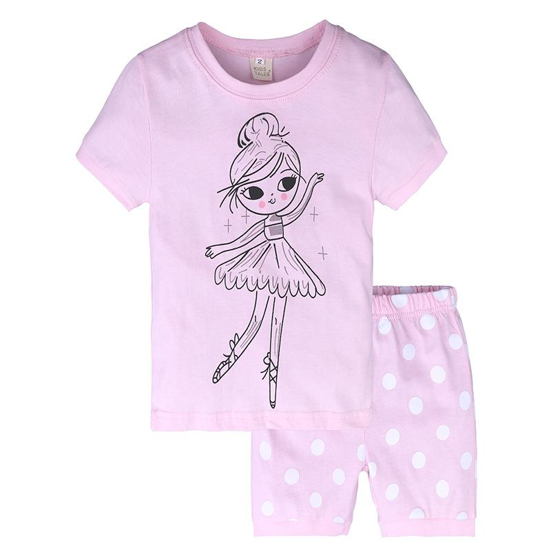 e52e5e738ec Toddler Baby Girls Clothes Outfits Summer Little Girl T-shirt Short Pants  Kids Children Clothes Baby Clothes Clothing Sets Online with  8.02 Piece on  ...