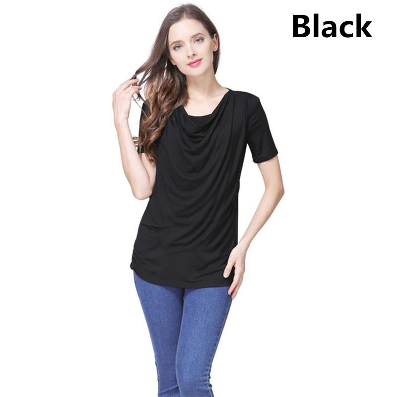 c5cef6862a257 2019 Emotion Moms Modal Short Sleeve Maternity Clothes Summer Maternity T  Shirt Breastfeeding Tops For Pregnant Women Nursing Tops From Roohua, ...