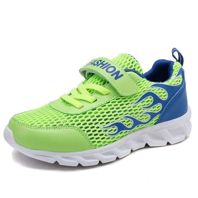 49b9864de80 New Spring Shoes For Kids 2018 Fashion Girls Tenis Infantil Menina Hook    Loop Light Kids For Big Boys Tenis Blancos Size 30 37 Best Rated Running  Shoes For ...
